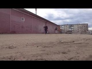 утренняя пробежка певца пророка сан боя кадры для видео клипа