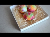 КАК КРАСИВО и быстро ПОКРАСИТЬ ЯЙЦА - Подготовка к ПАСХЕ красим Яйца