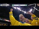 Полуфинал ЧМ-2018. Швеция - США - 6:0