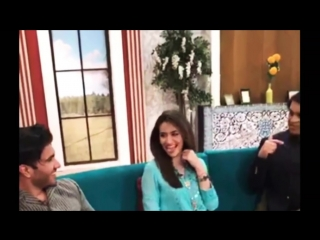 """Khaani"" ki Cast Feroz Khan our Sana Jawaid At Geo Subah Pakistan"