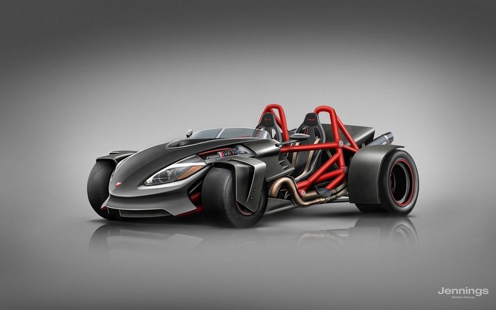 Jennings Harley-Davidson: Как могли бы выглядеть автомобили мотопроизводителей?! (часть 2)
