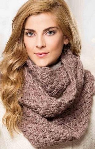 Модный шарф снуд 2018: фото и описание актуальных моделей