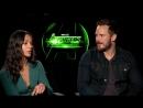 «Мстители: Война Бесконечности»: интервью Зои Салдана и Криса Прэтта для Ким Холкомб