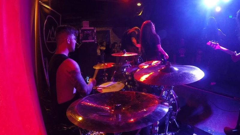 A Trigger Within - Survive (Live @The Slidebar - drum cam)