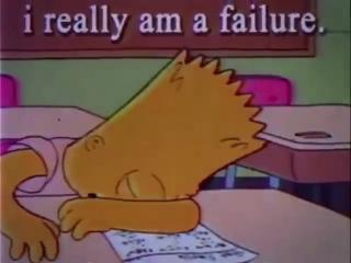 i really am a failure