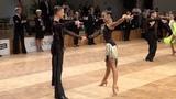 Danila Boriskin - Elizaveta Ulianova RUS, Samba GOC Junior II Latin