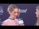 The Hollywood Reporter breakfast red carpet with Jennifer Lawrence