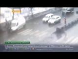 Автомобиль скорой помощи сбил группу людей на юге Москвы - Москва 24