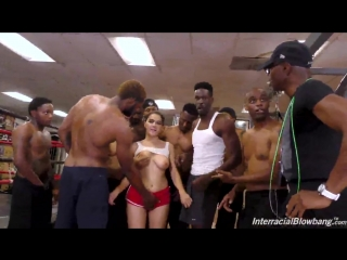 Valentina Nappi – Interracial Blowbang (Big ass tits black dick cock interracial blowjob anal porno 2018 gang bang анал порно)