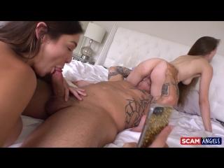 Blair Williams & Samantha Hayes [All Sex,Big Tits,Big Ass,Blowjob,Threesome,New Porn 2018]