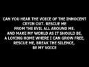 Child sexual abuse. Be A Voice