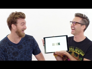 Internet slang with gmm's rhett and link