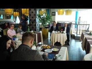 Пресс-завтрак с первым заместителем Губернатора А.В. Кольцовым