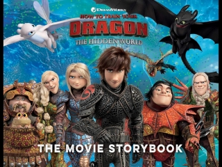 Toothless Draws the Light Fury!❤️ How to train your Dragon_ The Hidden World