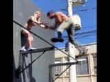 Street Workout - треним в паре