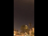 VIDEO Footage sent to @AlArabiya_Eng shows moment a Houthi ballistic missile was intercept