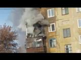 Пожар в жилом доме по адресу Дзержинского 28.