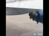 В сети появилось видео аварийной посадки самолёта Бишкек–Баткен.