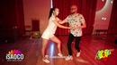 Marco Ivanyk and Nina Novikova Salsa Dancing at KISF, Saturday 02.06.2018
