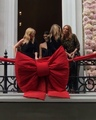 Stella McCartney on Instagram Kate Moss and @KylieMinogue helping Stella cut the ribbon tonight and officially launch our new London home at #23O...