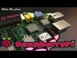 Подключаем и настраиваем 3G модем на Raspberry Pi