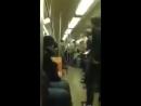 Батл саксофонистов в метро