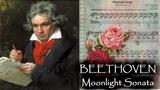 Людвиг ван Бетховен - Лунная соната Ludwig van Beethoven - Moonlight Sonata