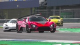 1200HP Zenvo TSR-S GOING FLATOUT ON THE TRACK! + ACTIVE AERO