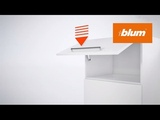 How to assemble the AVENTOS HK-XS for small stay lift systems Blum