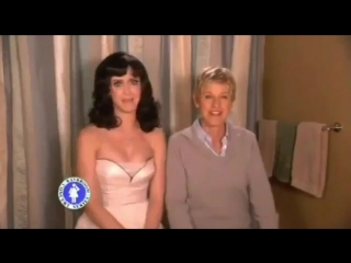 When Katy and Ellen sang I Kissed A Girl
