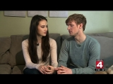 The Olympic Zone-Ice dancers Madison Chock, Evan Bates