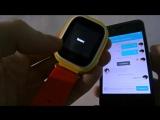 Обзор умных детских часов Smart baby watch Q80 (сенсорные)