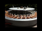 How to rewire_rebuild a washing machine motor to make a generator or brushless m