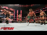 Dolph Ziggler, Randy Orton, Cesaro and Ryback vs Big Show, Kevin Owens, Rusev and Sheamus (24.08.15)