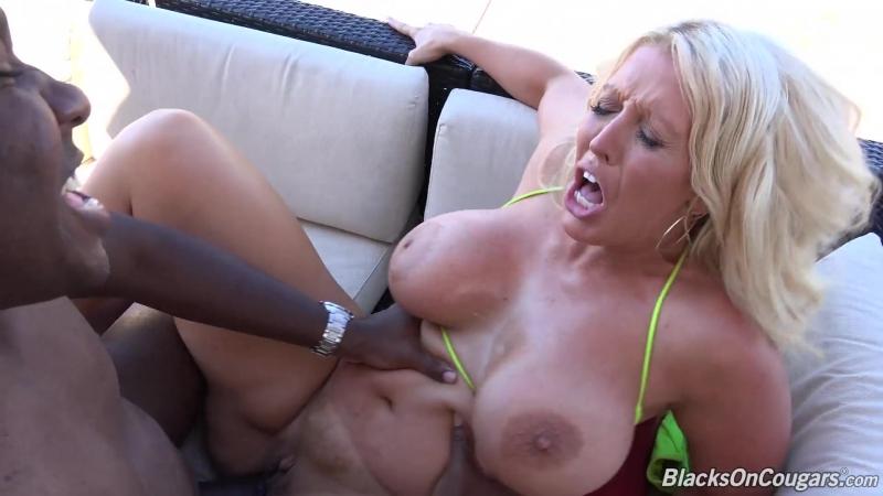 Blacks On Cougars Alura Jenson (1080p) Interracial, Anal, 1 on 1, Big Tits, Blonde, Cougars, MILF, Facial, No