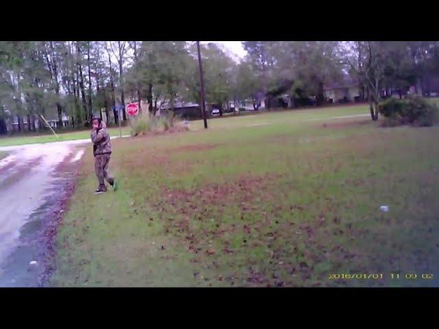 Estill, South Carolina, officers camera captures shooting