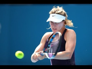 2017 Apia International Sydney Quarterfinal | Genie Bouchard vs Pavlyuchenkova | WTA Highlights