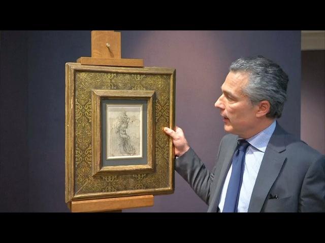 Рисунок да Винчи признали национальным достоянием Франции новости