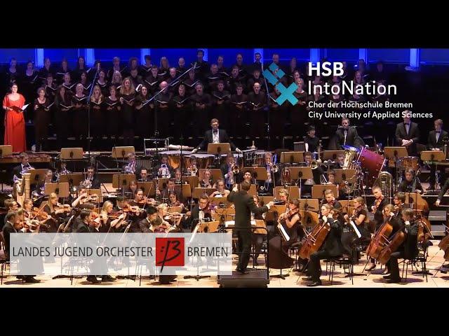 The SIMS 3 Main Theme IntoNation Chor der Hochschule Bremen HSB LJO Bremen Deutschland