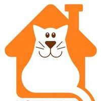 """Логотип Приют """"Кошкин дом"""" г. Тольятти"""