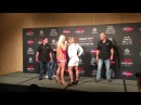 Holly Holm vs. Bethe Correia UFC Singapore Face Off