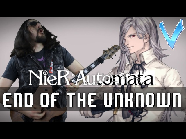 NieR Automata End of the Unknown Adam s Boss Theme Epic Metal Cover Remix Little V
