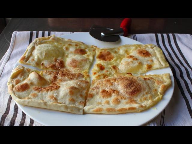 Focaccia di Recco Rustic Cheese Filled Italian Flatbread