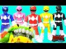 Imaginext Power Rangers vs Evil Slimy Toad Battle Fisher Price