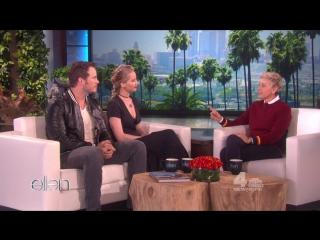 The Ellen DeGeneres Show Full Episode Seasin 14  Jennifer Lawrence & Chris Pratt