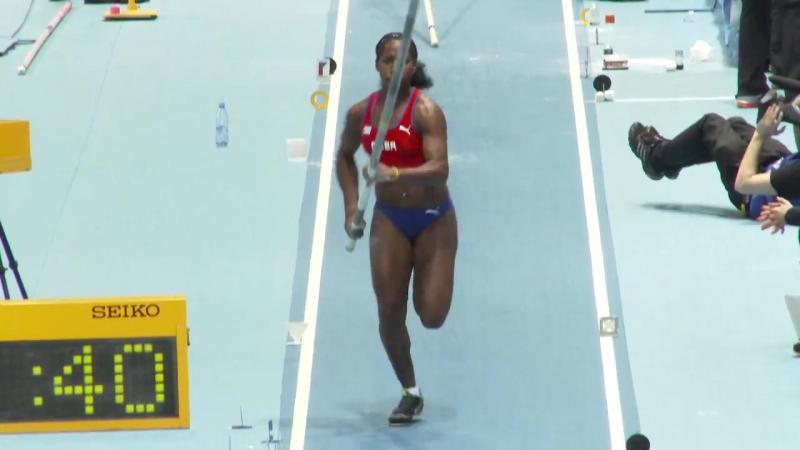 Yarisley Silva 2014 Cuban Pole Vault girl