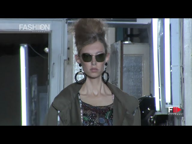 Ma Ego Models Valery and Anna ANTONIO MARRAS Full Show Spring Summer 2017 Milan by Fashion Channel