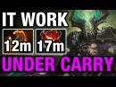 IT WORK! - UNDERLORD HARD CARRY - Ahjit WITH BATTLE FURY - Dota 2