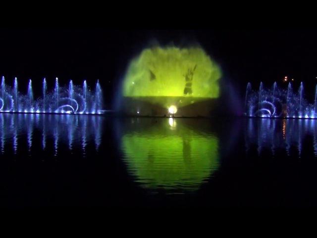 Шоу фонтанов в Абрау Дюрсо всё представление