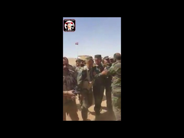 Syria Syrian Defense Minister General Fahd Jassem al Freij Visited Deir Ez Zor today Another Vid